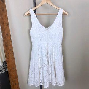 2837ae396455b5 Lilly Pulitzer Dresses - Lilly Pulitzer Marla White Eyelet Dress
